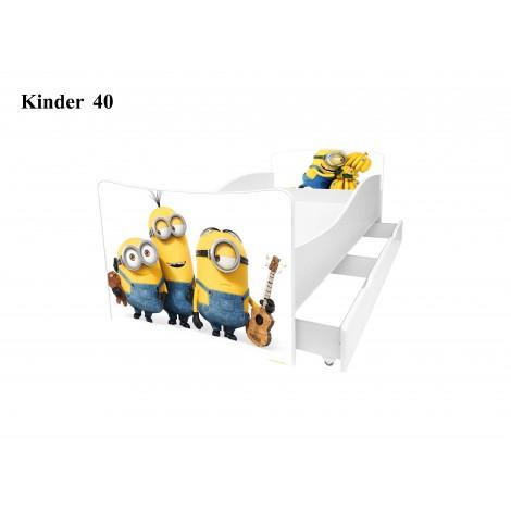 Ліжко дитяче Кіндер/Kinder 40 Viorina-Deko