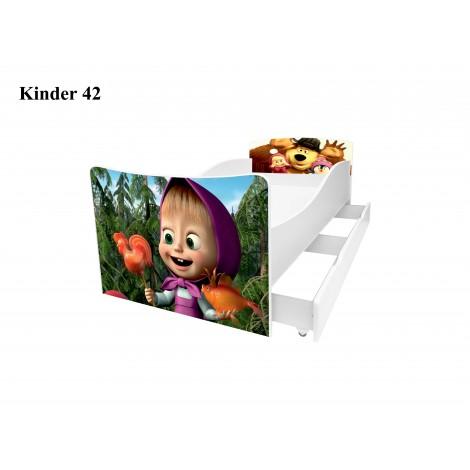 Ліжко дитяче Кіндер/Kinder 42 Viorina-Deko
