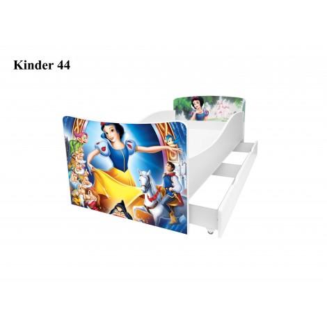 Ліжко дитяче Кіндер/Kinder 44 Viorina-Deko