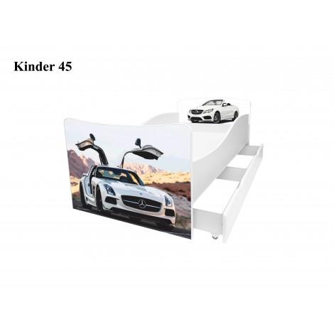 Ліжко дитяче Кіндер/Kinder 45 Viorina-Deko