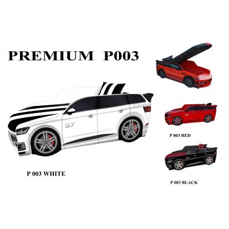 Кровать-машина детская Премиум/Premium P003 с подъемным механизмом Viorina-Deko