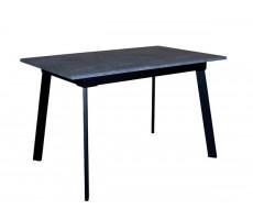 Стіл обідній EAGLE Flash black/grey 1200(1600)х750